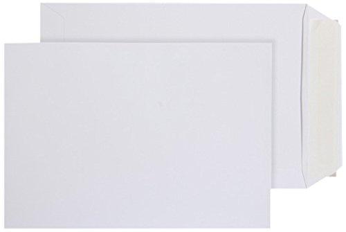 Purely EveryDay - Buste con chiusura adesiva, in carta, formato C5, 229 162 x mm, 500 pezzi, colore: bianco Blake 11893PS