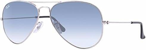 Ray Ban RB3025 Non Polarized Metal Aviator Sunglasses