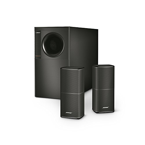 Bose Acoustimass 5 Series V Stereo Speaker System (Black) (Acoustimass 5 Speaker System)