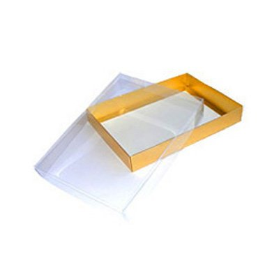 Davpack 25 X Clear Lid Presentation Gift Boxes Choice Of Size