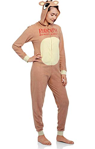 Rudolph The Red Nosed Reindeer Costumes Adults - Rudolph The Red Nosed Reindeer Fleece