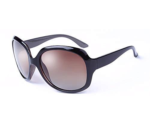 UV De último Mujeres Y Protección Estilo Retro Sol El Gafas WJYTYJ Negro Americano Europeo Polarizadas c0nBUqf7z