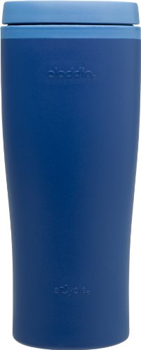 Aladdin Recycled and Recyclable tumbler, Bluebird, 16-Ounce