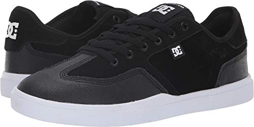 Dc Suede Sneakers - DC Men's Vestrey Black/White/White 10.5 D US