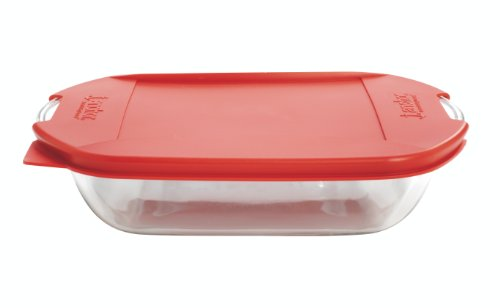 Anchor Hocking 3-Quart Rectangular Baking Dish with Embrace Lids, Set of 3 ()