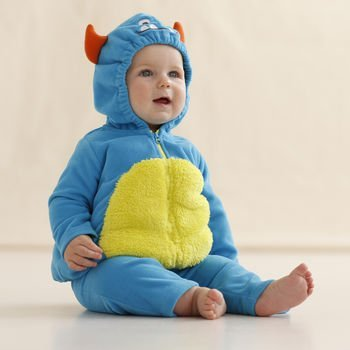 carters baby halloween costume blue monster 3 6 months - Baby Monster Halloween Costumes