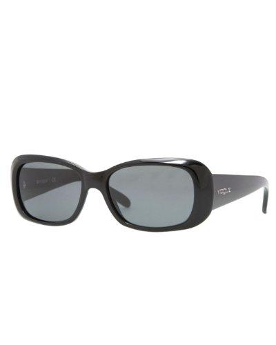 Vogue VO2606S W44/87 Black VO2606S Rectangle Sunglasses Lens Category 3 Size - Glasses Black Vogue