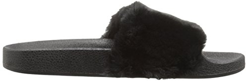 Fur Booboo Slipper Women's 01 Qupid Faux Black qvg8wxY