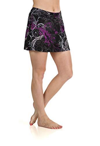 (Skirt Sports Women's Gym Girl Ultra Skirt, Starlet Print, Small)