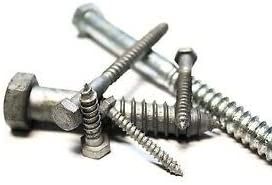 The best fasteners 1//2x3-1//2 Hex Lag Screws Hot Dip Galvanized 50