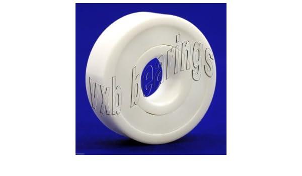 6204-2RS Bearing 20mm x 47mm x 14mm Si3N4 Ceramic:Stainless Premium ABEC-5