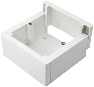 Pack de 3 cajas de superficie enlazable 85x85x42mm: Amazon.es: Bricolaje y herramientas