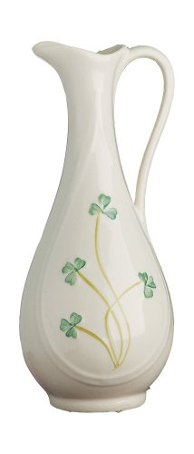 Belleek Fine Parian China B0524 Typha Jug 7.5-Inch Limited-Edition Spill Vase