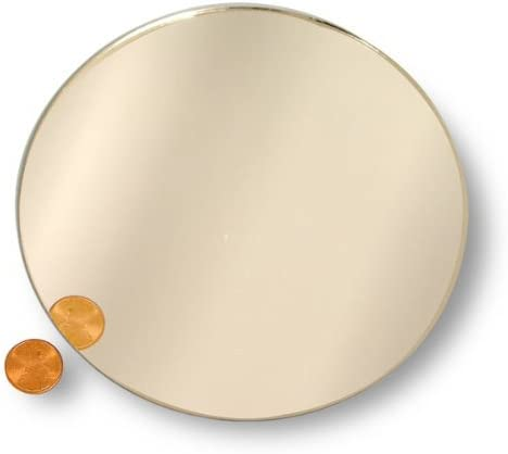 National Artcraft Round 5 Mirror is Useful in Many Craft Projects Pkg 20