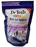 Dr Teal's Kids Bath Time Fizzie Fun Scented Bath Bombs Deep Sea Lavender Natural Essential Oils