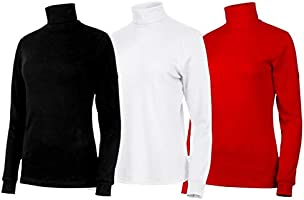 Medico - Camiseta de esquí para mujer (manga larga, cuello vuelto ...