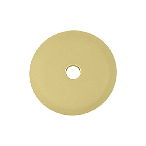 Deltana BPRK125U3 11/4-Inch Diameter Solid Brass Base Plate for Knobs
