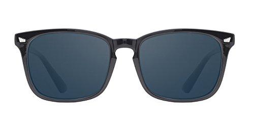 TIJN Classic Wayfarer Polarized Sunglasses for Womens Mens UV 400 Protection