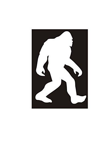 RT994 Bigfoot Sasquatch Sticker inches product image