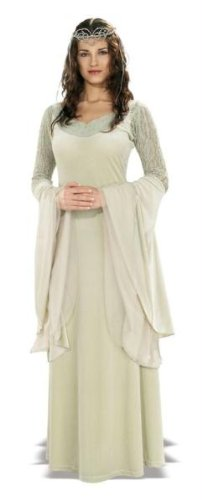 Lord of the Rings Queen Arwen Deluxe Adult Costume - One (Queen Arwen)