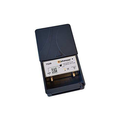 Kit Amplificador de m/ástil UHF 35dB LTE 5G Fuente de Alimentaci/ón