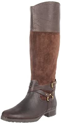 Lauren Ralph Lauren Women's Sonya Boot,Dark Brown/Dark Brown,6 B US