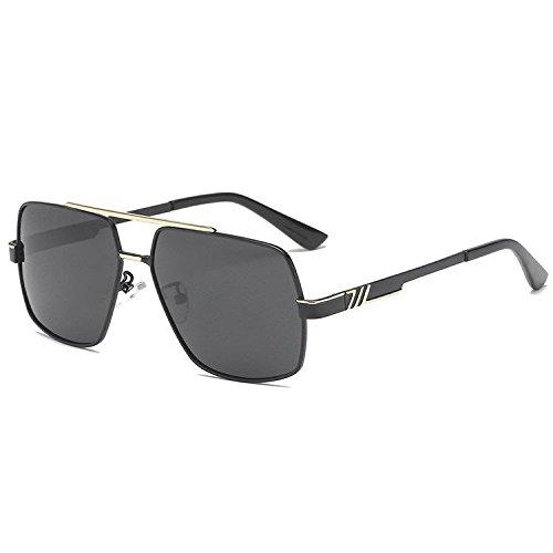 B de Hombres Rana Gafas polarizadas galjanoplastia Dos de de Axiba Sol Colores Gafas creativos la de Gafas de Sol Sol Regalos de YwSq1UF
