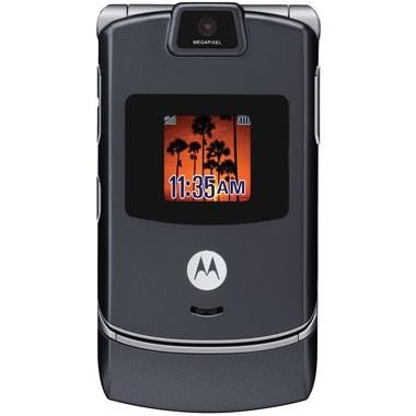 (Sprint PCS Motorola RAZR V3m Bluetooth Camera Phone)