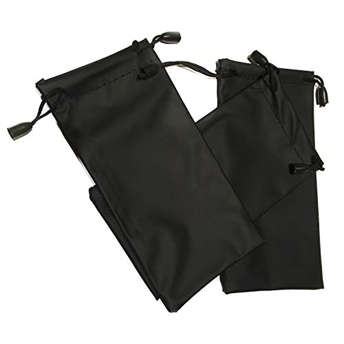 24,100 Eyeglasses Pouches Case Bag Black 6 Black, 24 PC 2000 PCS 12