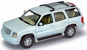1//24scale Welly Waley 2002 Cadillac Escalade White Cadillac Escalade