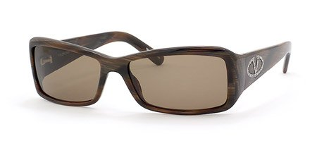 Valentino 5489 S sunglasses Horn with Brown Lens