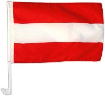 Autofahne Autoflagge /Österreich 30 x 45 cm