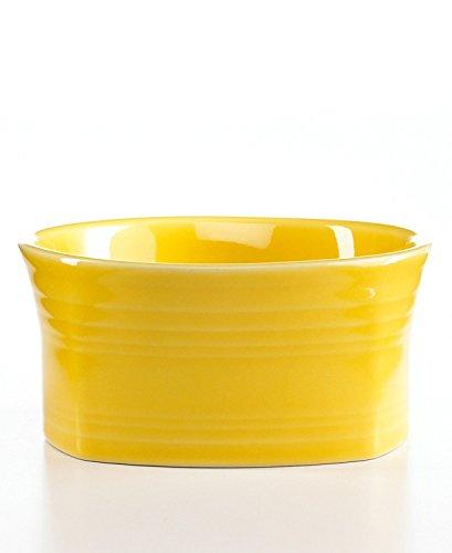 Fiesta 19-Ounce Square Medium Bowl, Sunflower