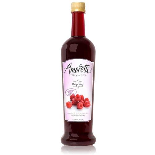 Amoretti Premium Sugar Free Flavoring, Raspberry, 25.4 Ounce
