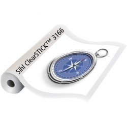 3166 clearstick adhesive clear film 2 mil