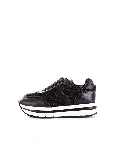 Cuero Zapatos 201288302 Blanche De Voile Charol Negro Mujer IBxvpP