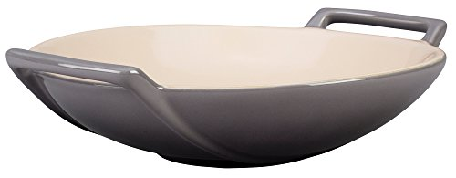 Le Creuset Stoneware Wok Dish, 28-Ounce, Oyster for sale  Delivered anywhere in USA