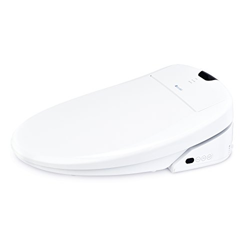 Brondell Swash 1400 Luxury Bidet Toilet Seat in Elongated White with Dual Stainless-Steel Nozzles and Nanotechnology Nozzle Sterilization| Endless Warm Water | Warm Air Dryer | Nightlight by Brondell (Image #2)