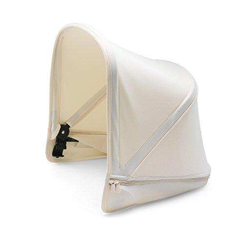 Bugaboo Donkey2 Sun Canopy, Fresh White - Extendable Sun Shade for Full Weather Protection, Machine Washable