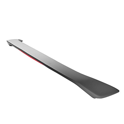 For [Paintable] 2001-2005 Honda Civic 2DR Coupe Rear Trunk Lip Spoiler Wing W/LED Brake Light ()