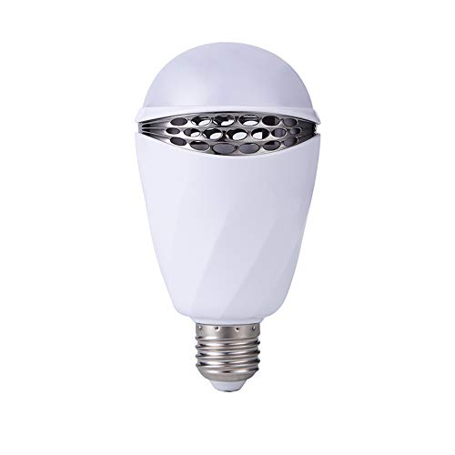LK&smart Bluetooth Smart LED Bulb, Speaker Bulb, APP Controlled Dimmable Multicolored Lights