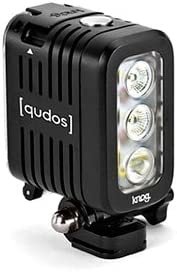 Knog Qudos GoPro Action 70-400 130 lúmenes LED luz para bicicleta ...