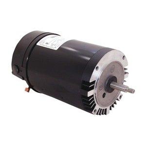 Pool pump motor 3 hp 3450 rpm 208 230vac electric fan for Amazon pool pump motors