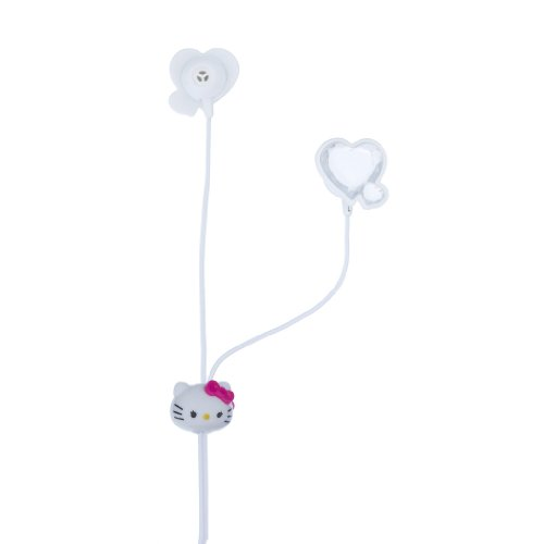 Hello Kitty  Earbuds with Love, White