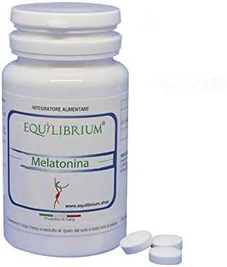 EQUILIBRIUM - INTEGRATORI NATURALI Melatonina 60 tabletas de 300 mg ...