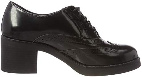 Mujer 001 Cordones Black Oliver Zapatos 23300 5 21 para Brogue de 5 1 Negro s BTnCxx