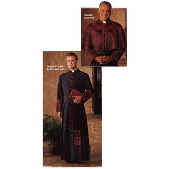 Religious Supply Evangelical Cassock (Band Cincture)