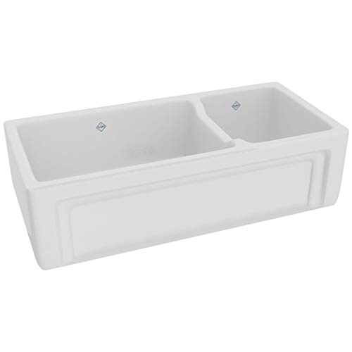 (Rohl RC4018WH FIRECLAY KITCHEN SINKS White)
