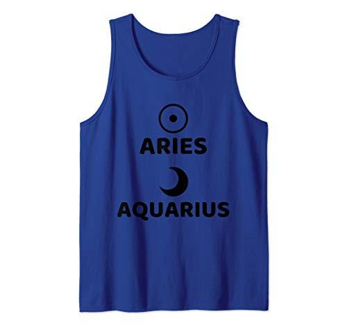 Aries Sun Aquarius Moon Tank Top ()