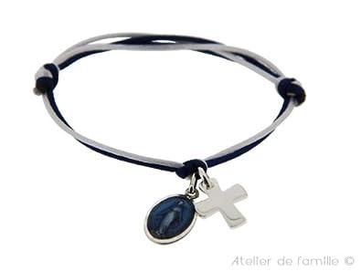 Miraculous Medal   Mini Cross Bracelet 81e85ca14